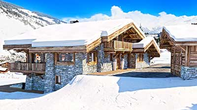 3D Images for a real estate project concerning the construction of a luxurious chalet in the mountains.