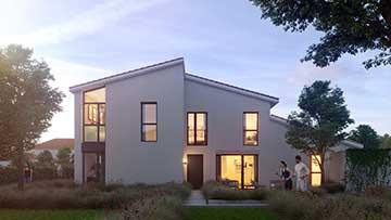 Création 3D d'image photo réaliste projet immobilier.