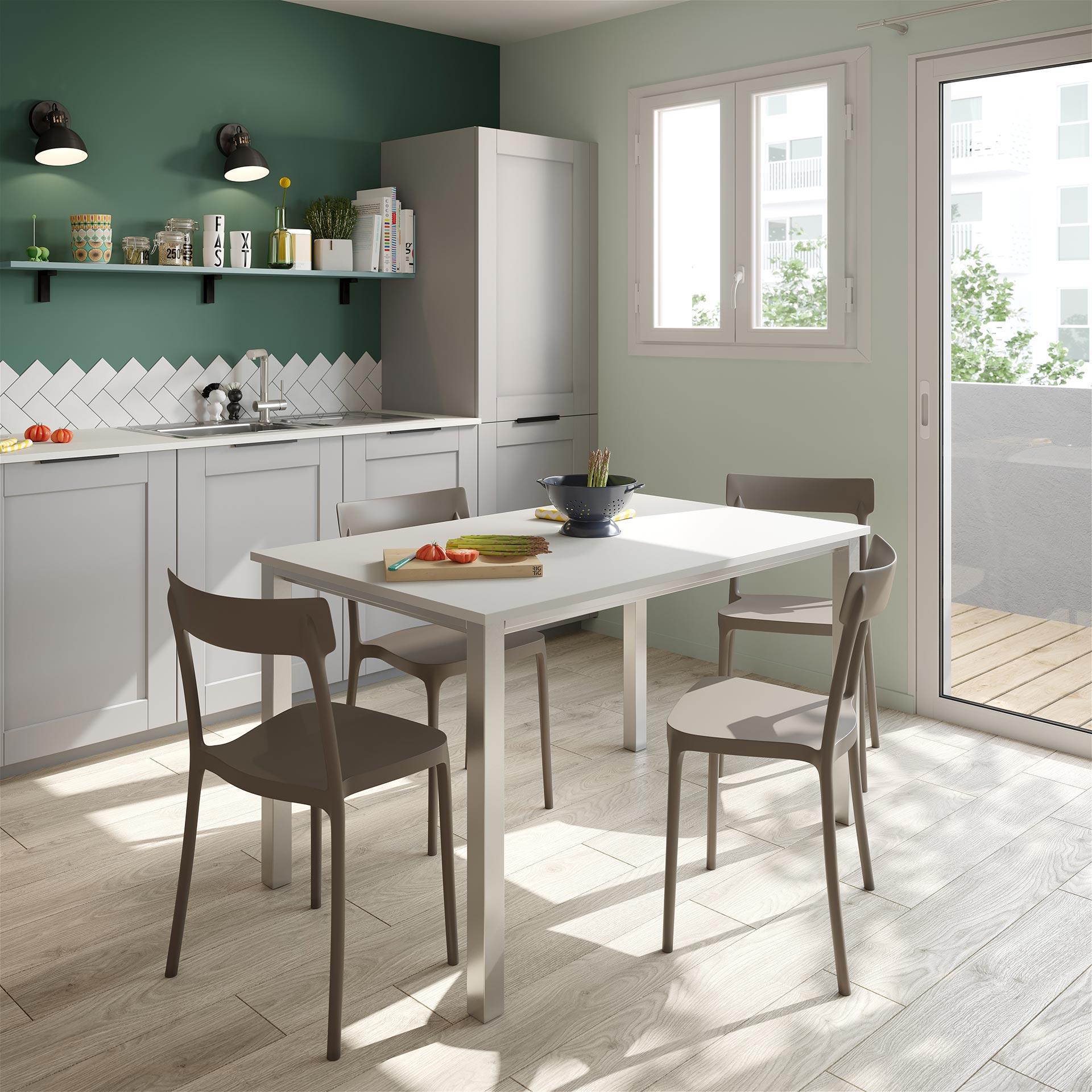 Perspective 3D d'une table de cuisine par un studio 3D