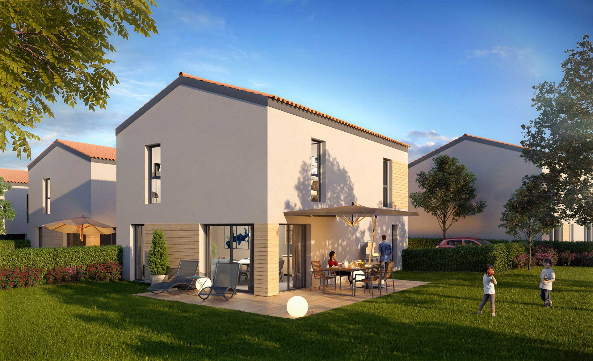 3D House created by the expert agency Valentin Studio based at Lyon.