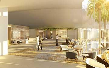 Création d'une salle de meeting en 3D pour un concours.